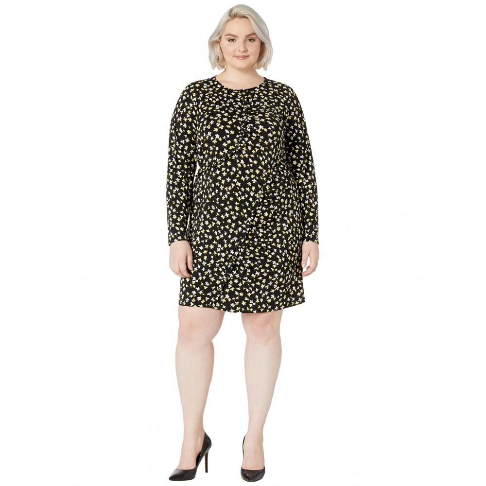 MICHAEL Michael Kors Plus Size Tossed Lilies Ruffle Dress