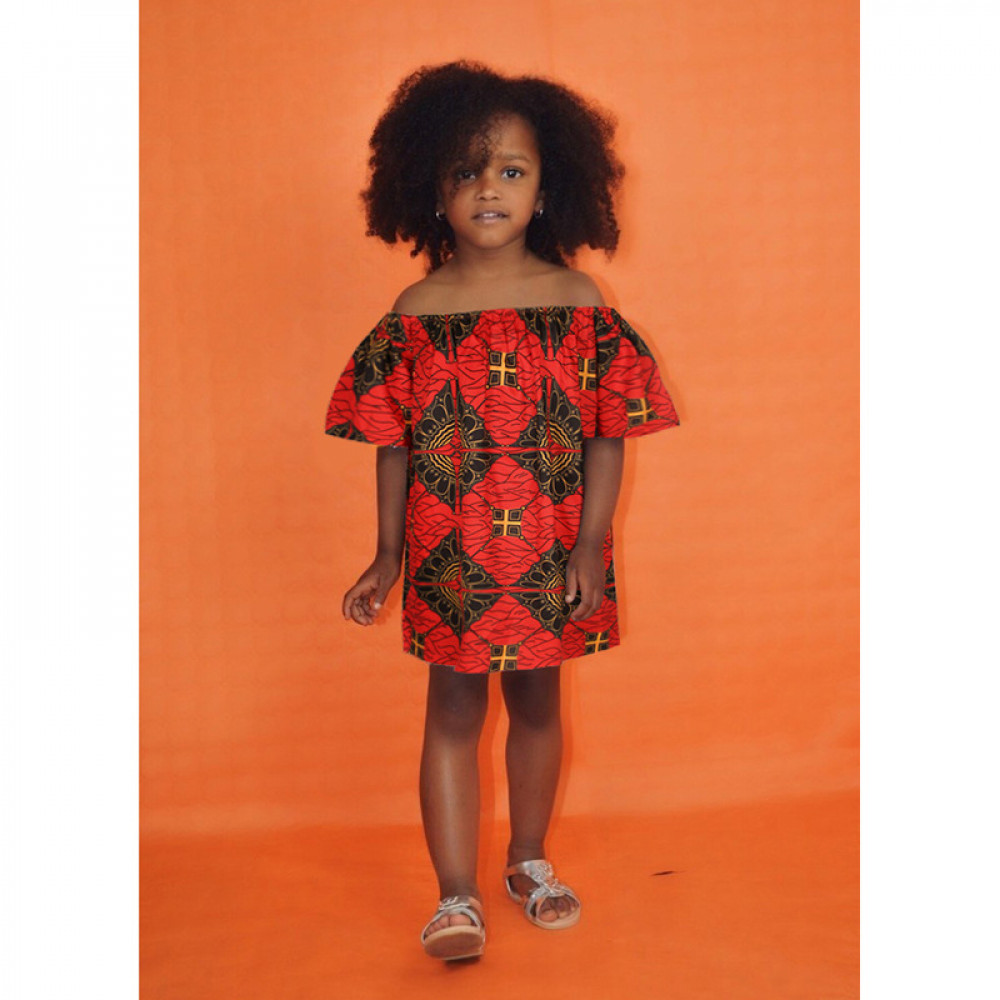 Off Shoulder Bohemian Girl Casual Dress